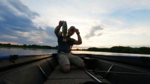 Jon Boat at Dusk
